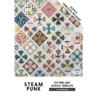 Steam Punk Pattern & Acrylic Templates (ATI)
