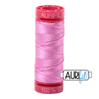 Aurifil 12wt Cotton Mako' 50m Spool - 2479 - Medium Orchid
