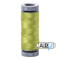 Aurifil 28wt Cotton Mako' 100m Spool - 1231 - Spring Green
