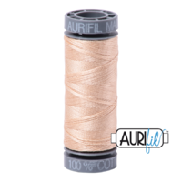 Aurifil 28wt Cotton Mako' 100m Spool - 2315 - Shell
