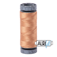 Aurifil 28wt Cotton Mako' 100m Spool - 2320 - Light Toast