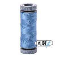Aurifil 28wt Cotton Mako' 100m Spool - 2725 - Light Wedgewood
