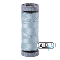 Aurifil 28wt Cotton Mako' 100m Spool - 2847 - Bright Grey Blue