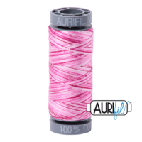 Aurifil 28wt Cotton Mako' 100m Spool - 4660 - Pink Taffy