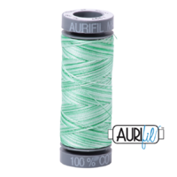 Aurifil 28wt Cotton Mako' 100m Spool - 4661 - Mint Julep