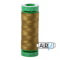 Aurifil 40wt Cotton Mako' 150m Spool - 2910 - Medium Olive
