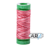 Aurifil 40wt Cotton Mako' 150m Spool - 4668 - Strawberry Parfait