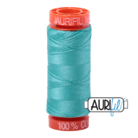 Aurifil 50wt Cotton Mako' 200m Spool - 1148 - Light Jade