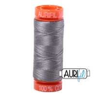 Aurifil 50wt Cotton Mako' 200m Spool - 2625 - Artic Ice