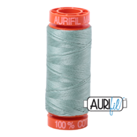Aurifil 50wt Cotton Mako' 200m Spool - 2845 - Light Juniper