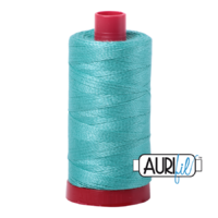 Aurifil 12wt Cotton Mako' 325m Spool - 1148 - Light Jade