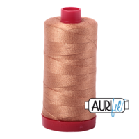Aurifil 12wt Cotton Mako' 325m Spool - 2330 - Light Chestnut