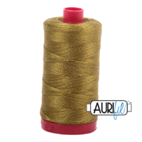 Aurifil 12wt Cotton Mako' 325m Spool - 2910 - Medium Olive