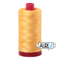Aurifil 12wt Cotton Mako' 325m Spool - 3920 - Golden Glow