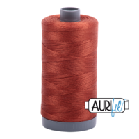 Aurifil 28wt Cotton Mako' 750m Spool - 2350 - Copper