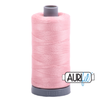 Aurifil 28wt Cotton Mako' 750m Spool - 2437 - Light Peony