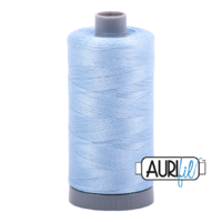 Aurifil 28wt Cotton Mako' 750m Spool - 2715 - Robins Egg