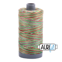 Aurifil 28wt Cotton Mako' 750m Spool - 4650 - Leaves