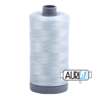 Aurifil 28wt Cotton Mako' 750m Spool - 5007 - Light Grey Blue