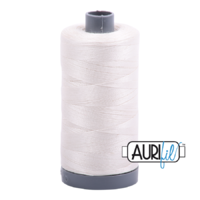 Aurifil 28wt Cotton Mako' 750m Spool - 6722 - Sea Biscuit