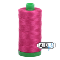 Aurifil 40wt Cotton Mako' 1000m Spool - 1100 - Red Plum