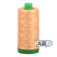Aurifil 40wt Cotton Mako' 1000m Spool - 2214 - Golden Honey