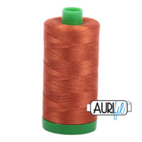 Aurifil 40wt Cotton Mako' 1000m Spool - 2390 - Cinnamon Toast