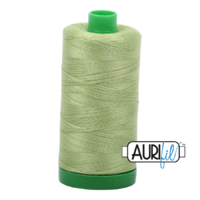 Aurifil 40wt Cotton Mako' 1000m Spool - 2882 - Light Green