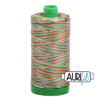 Aurifil 40wt Cotton Mako' 1000m Spool - 4650 - Leaves