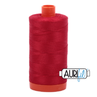 Aurifil 50wt Cotton Mako' 1300m Spool - 2250 - Red