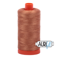 Aurifil 50wt Cotton Mako' 1300m Spool - 2330 - Light Chestnut