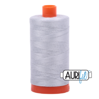 Aurifil 50wt Cotton Mako' 1300m Spool - 2600 - Dove