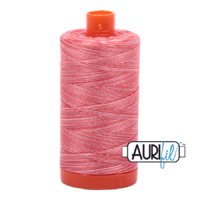 Aurifil 50wt Cotton Mako' 1300m Spool - 4668 - Strawberry Parfait