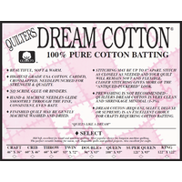 White Cotton Select Natural Queen Roll